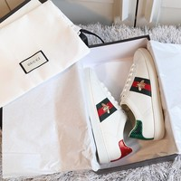 GUCCI Embroidered sports shoes