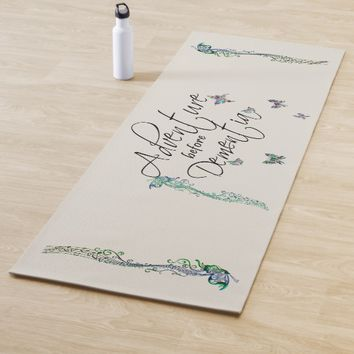 Adventure before Dementia Yoga Mat