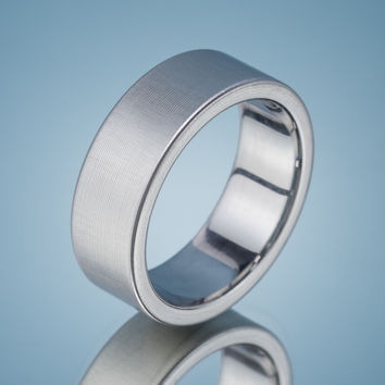 Stainless Steel Brushed Ring