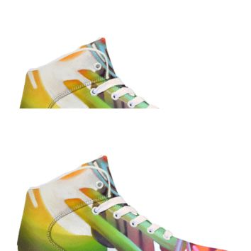Gravity Wave by Brian Scott - APP Controlled High Top LED Shoes