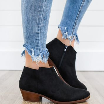 Season's Best Booties - Black