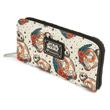Star Wars BB-8 Tattoo Flash Wallet