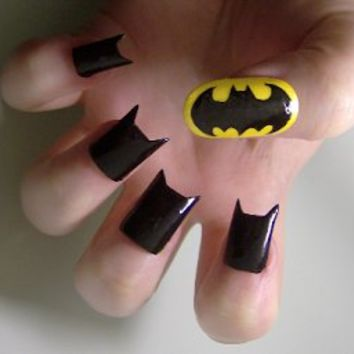 Liquor and Nails: Nail Art at The Nails Show: Creative, Batman, Doctor Who + More