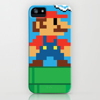 Mario Bros iPhone & iPod Case by WaXaVeJu