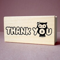 Rubber Stamp - Thank You