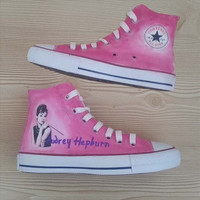 Audrey Hepburn Custom Shoes