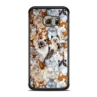 lost cat art Samsung Galaxy S6 Edge Cases