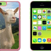 The Majestic Goat Snap On Hard Protective Case for Apple iPhone 5C - Pink