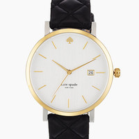 Kate Spade Metro Grand Watch Black ONE