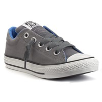 Converse Chuck Taylor All Star Street Slip-On Sneakers for Boys (Grey)
