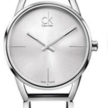 ac NOVQ2A CK Calvin Klein popular metal fashion watch L-PS-XSDZBSH Silver