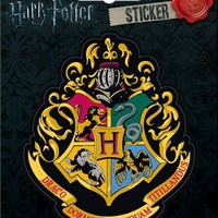 Harry Potter - Hogwart's Crest - Die Cut Vinyl Sticker Decal by Ata-Boy