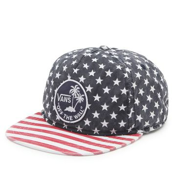 Vans Stars And Stripes Snapback Hat - Mens Backpack - Red/White/Blue - One