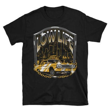Low Life Lowrider Car T-Shirt