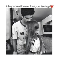 Boy who will never hurt your feelings😳💕