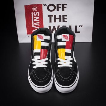 Vans Classics  Ankle Boots Old Skool Canvas Flat Sneakers Sport Shoes