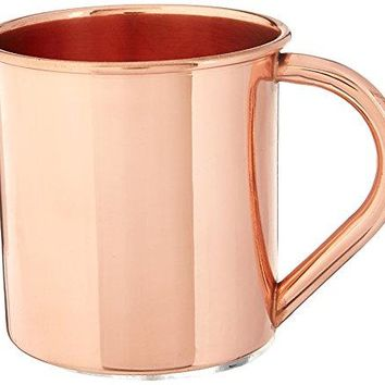 BirdRock Home 100 Copper Moscow Mule Mugs   Set of 2   Cup   Home and Kitchen   Cocktails   Drinks
