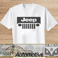 JEEP BEER TShirt Tee Shirts Black and White For Men and Women Unisex Size