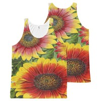 vintage seed pack All-Over-Print tank top