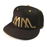 Embroidered MM Snapback - Assorted Colors