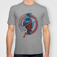The Winter Soldier T-shirt by Florey | Society6