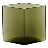 Ruutu Vase Large in Moss Green - Pop! Gift Boutique