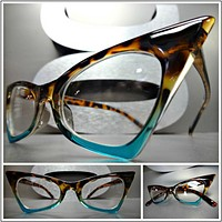 Retro Vintage Cat Eye Glasses