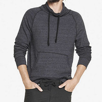 FUNNEL NECK FRENCH TERRY SWEATSHIRT from EXPRESS