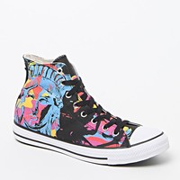 Converse Chuck Taylor All Star Hi Warhol Lady Liberty Shoes - Mens Shoes - Black