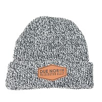 DUE NORTH BEANIE - GREY MIX