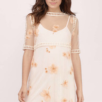 Charlotte Embroidery Ladder Dress