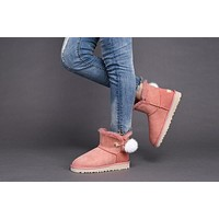 Fashion UGG LIMITED EDITION CLASSICS Boots WoMenshoes 1017501 Pink