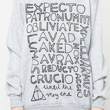 Harry Potter spells shirt women sweater tshirt sweatshirt men shirt jumper long sleeve tee tshirt cute text