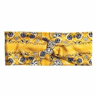 Patterned hairband - Yellow - Ladies | H&M CA