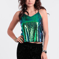 Poison Ivy Sequin Tank