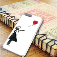 The Girl With Balloon Heart iPhone 6 Plus Case