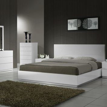 J&M Furniture Naples Bed - Opulentitems.com