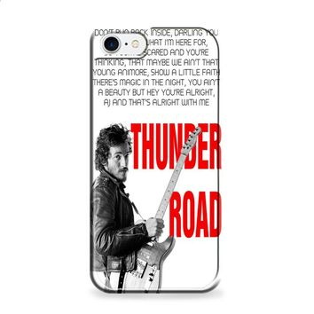 Bruce Springsteen Born To Run Quote iPhone 6 | iPhone 6S case
