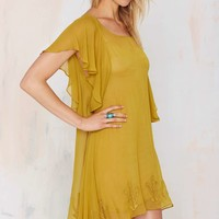 For Love and LemonsPrickly Pear Mini Dress