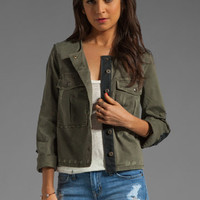 Free People Military Jacket in Military Green from REVOLVEclothing.com
