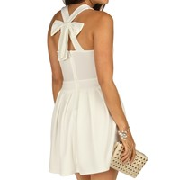 Ivory Sunday Brunch Skater Dress