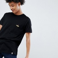 Pretty Green X The Beatles Submarine Badge T-Shirt in Black at asos.com