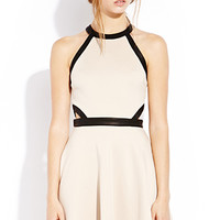 Cutout Craze Skater Dress