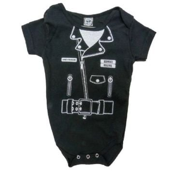 Sons Of Anarchy Reaper Motorcycle Jacket Infant Baby Onesuit Romper - Sons of Anarchy - | TV Store Online