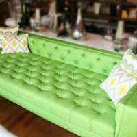 www.roomservicestore.com - Viceroy Sofa with Texture Fabric in Green