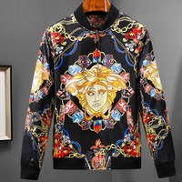 Versace autumn and winter long-sleeved men's jacket men's jacket F-A00FS-GJ