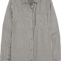 Étoile Isabel Marant - Waida oversized striped cotton shirt