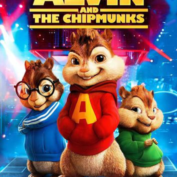 Alvin and the Chipmunks 27x40 Movie Poster (2007)