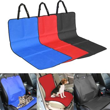 Waterproof Pet Fabric Car Seat Cover Dog Cat Puppy Seat Mat