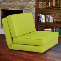 Lime Green Light Weight Foam Sofa Bed